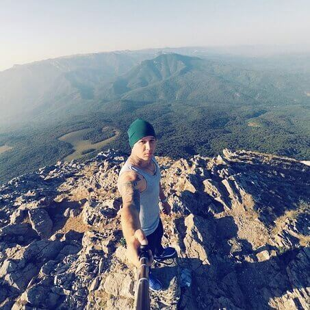 Селфи на вершине Эклизи Бурун