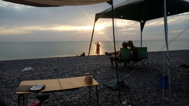 Каламитский залив черного моря - фото с отдыха