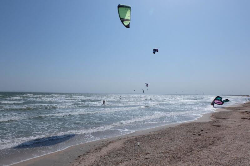Виндсерфинг на казантипском заливе