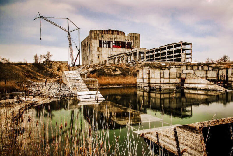 На фото Крымская АЭС