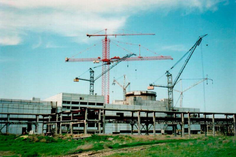 Фот о из истории - период строительства Крымской АЭС