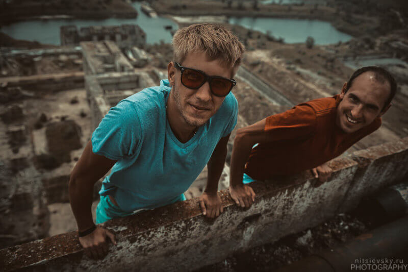 Фото туристов на Крымской АЭС