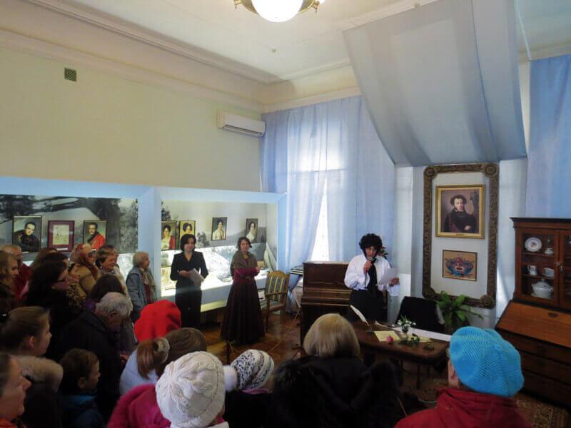 Творческие вечера в музее А.С. Пушкина
