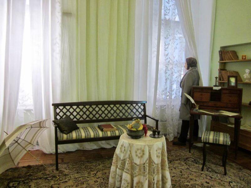 Музей А.С. Пушкина в Гурзуфе - фото комнаты