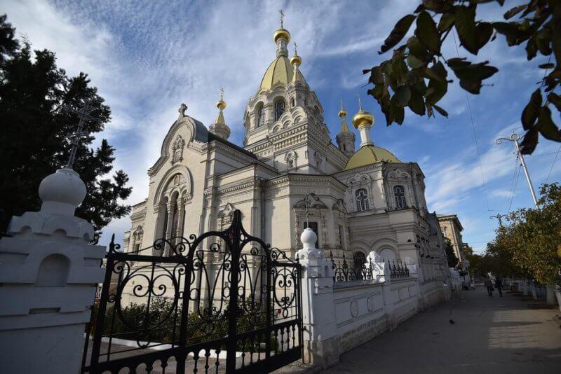 На фото Покровский собор (Севастополь)
