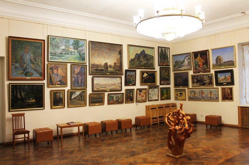 Живопись в музее