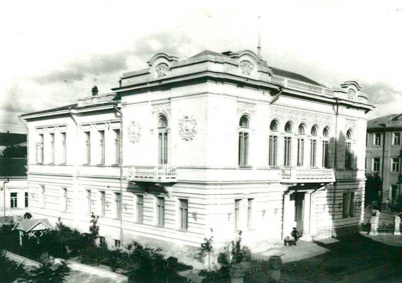 Историческое фото музея