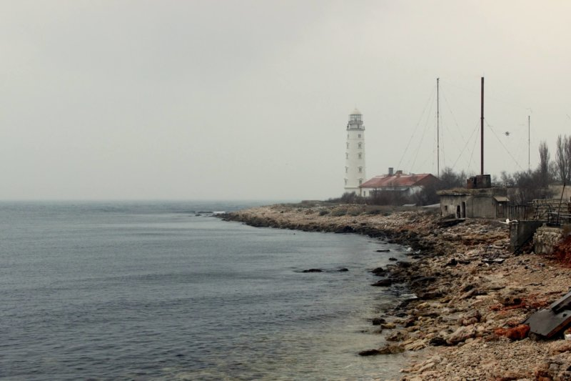 На фото Херсонесский маяк