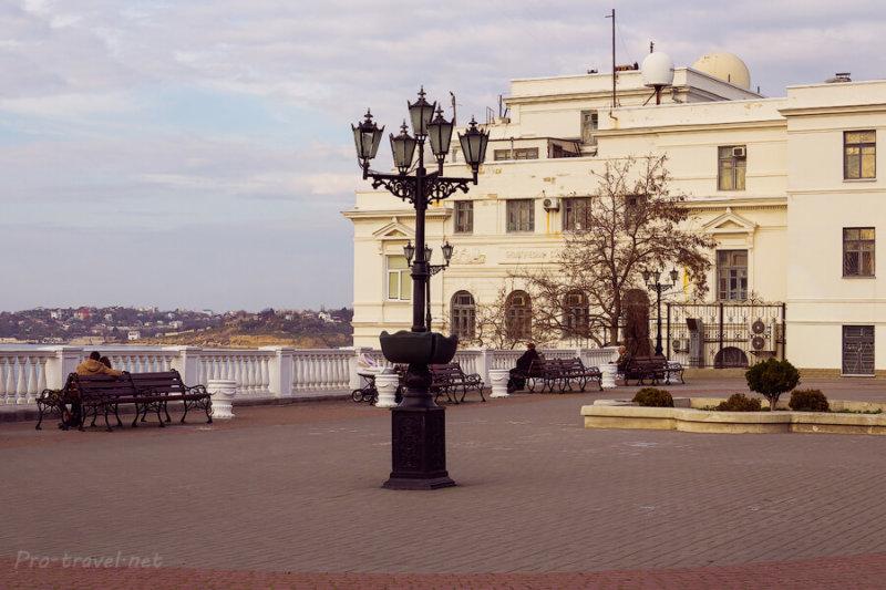 Фото с Приморского бульвара в Севастополе