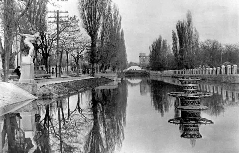 Историческое фото реки Салгир (Фото в Симферополе)