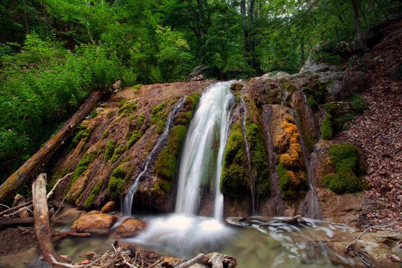 Достопримечательности Алушты: водопад Джур-Джур