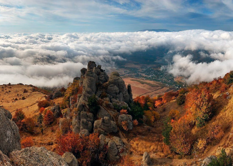 Достопримечательности Алушты: Гора Демерджи