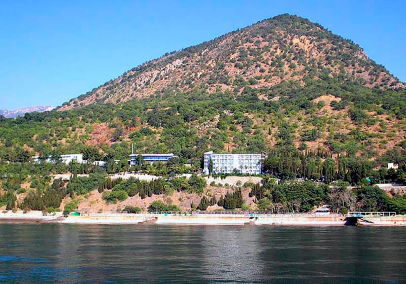 Достопримечательности Алушты: Гора Кастель
