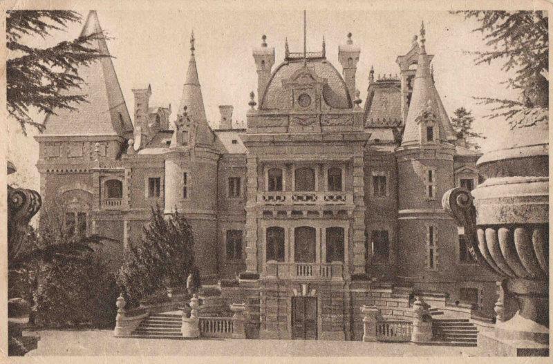 Массандровский дворец - фото из истории