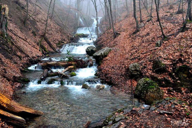 Достопримечательности Алушты: Водопад Головкинского