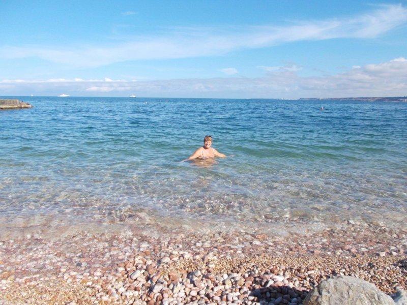 Фото моря на пляже Толстяк