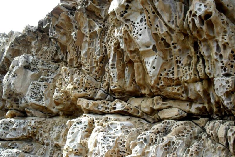 Фото Сырных скал крупным кадром