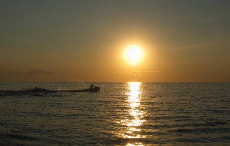 Татарская бухта на закате