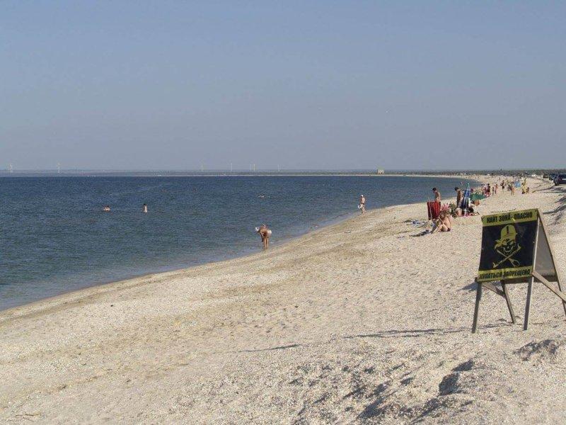 Татарская бухта - фото пляжей
