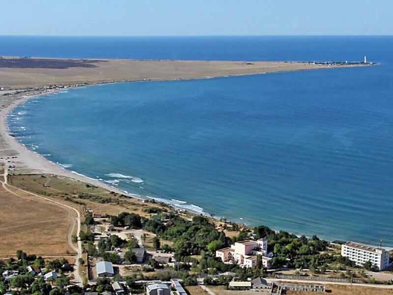 Вид на залив Ярылгачской бухты