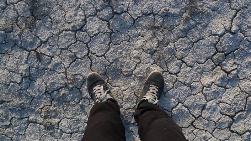 Фото соленого озера Бараколь