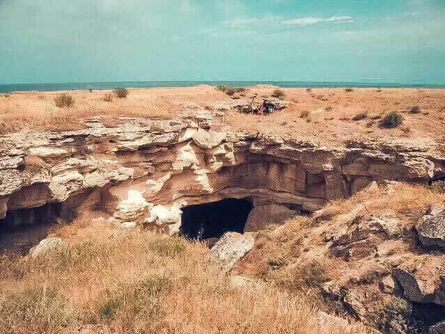 Вид на Ак-Монайские каменоломни
