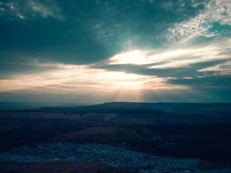 Ай-Кая (Белая скала) на закате