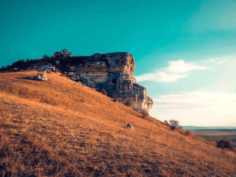 Белая скала (Ак-Кая) - фото
