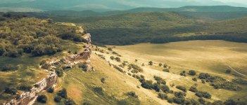 Бакла – пещерный город