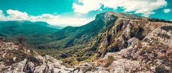 Гора Чатыр-Даг в Крыму