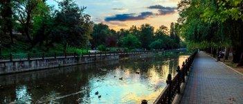 Река Салгир в Крыму
