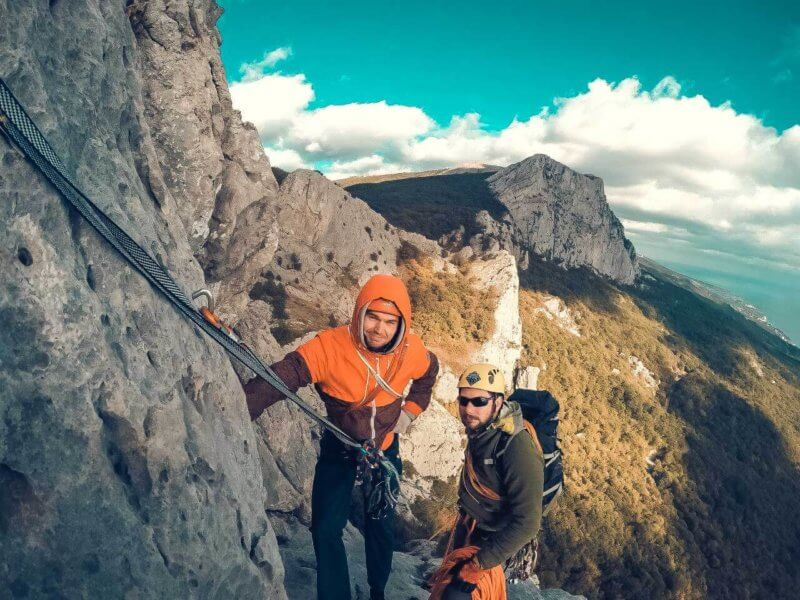 Альпинистский маршрут через Форосский кант