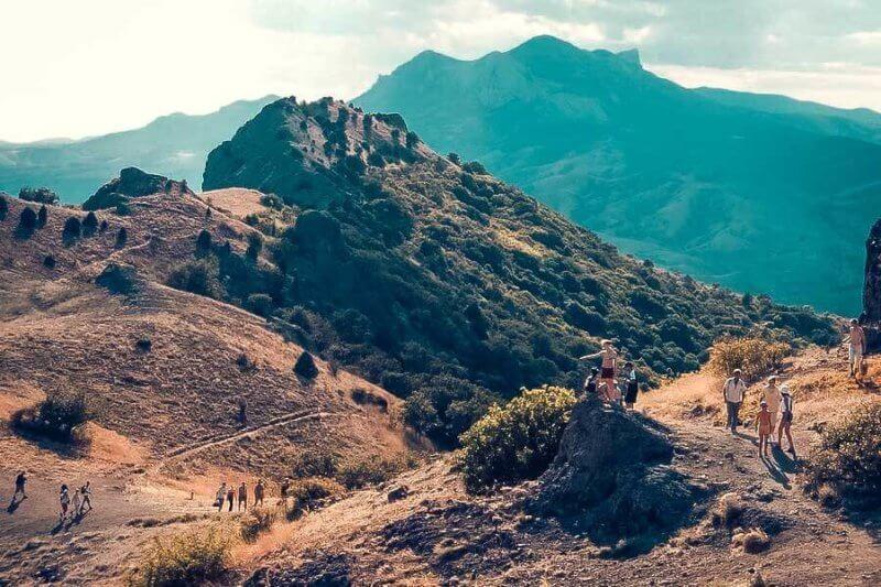 Фото с горы Карадаг