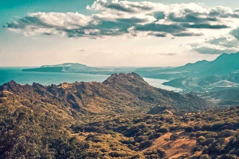 Гора Карадаг - фото