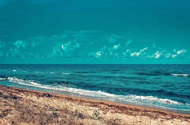 Море в поселке Витино