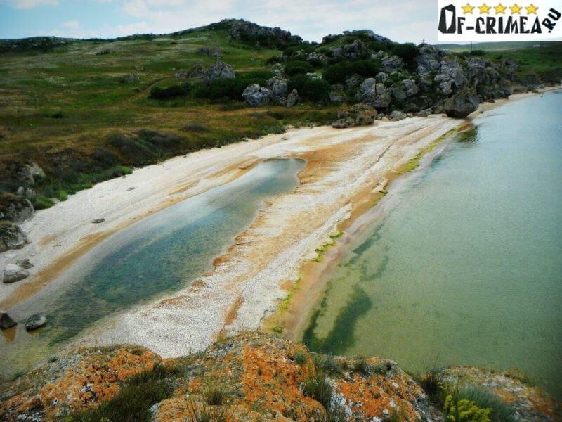 Красочные берега Генеральских пляжей