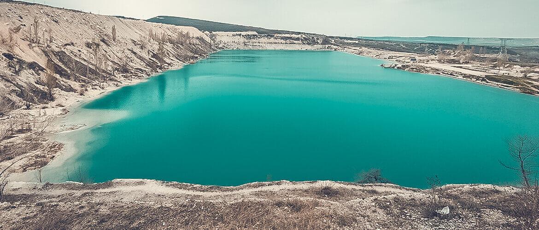 Марсианское озеро