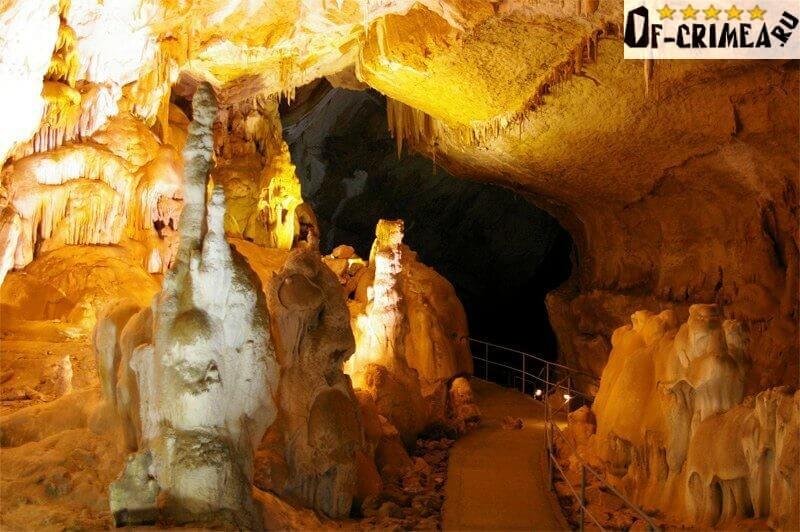 Фото моста в Мраморной пещере