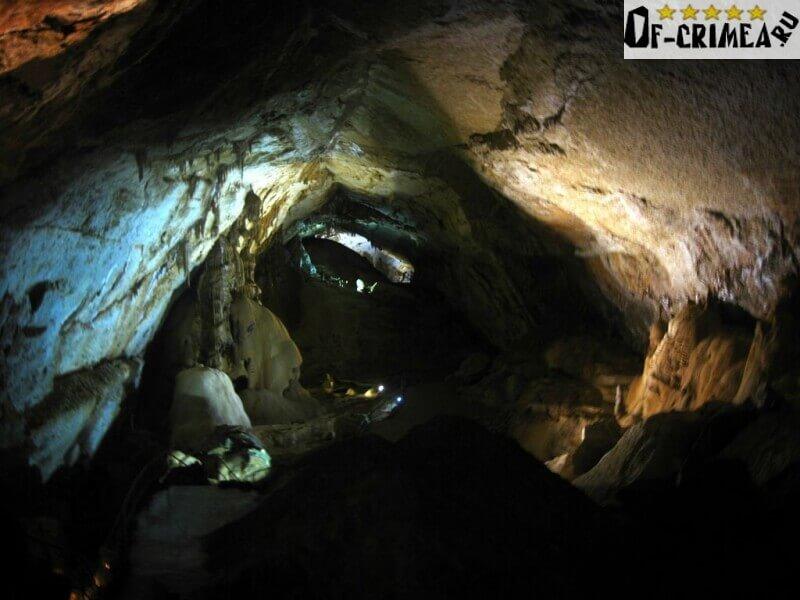 Мраморная пещера - Зал перестройки (Обвальный зал)