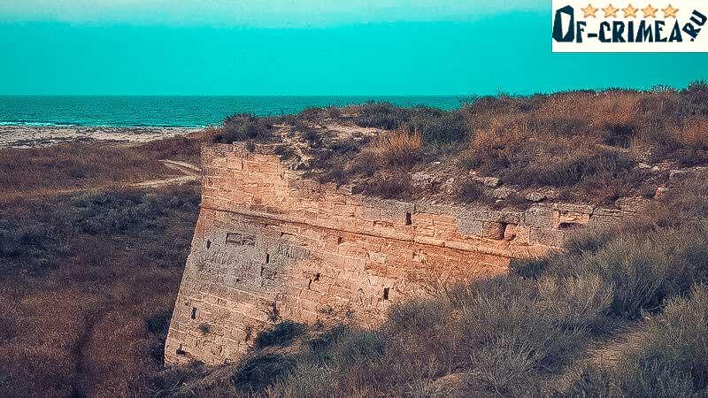 Арабатская крепость сегодня