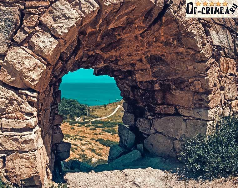 Исторический и культурный памятник Крыма - Крепость Арабат