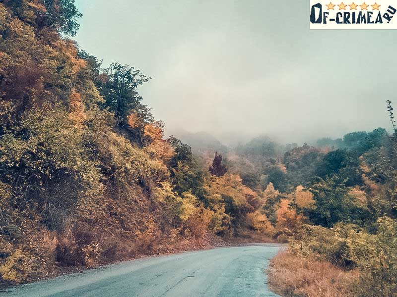 Дорога к Бирюзовому озеру