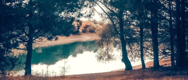 Бирюзовое озеро