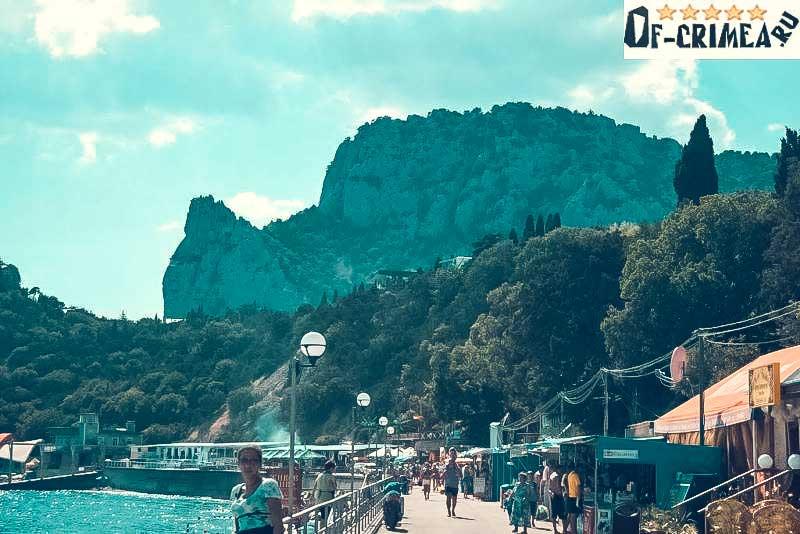 Гора Кошка (татарское название Кош-Кая)
