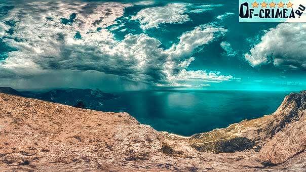 Красивейший вид с горы Сокол