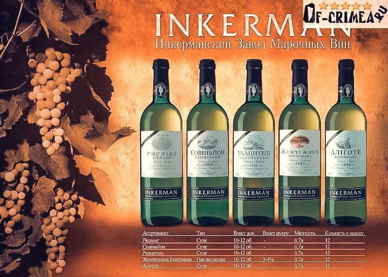 Вино Инкерман - Завод марочных вин