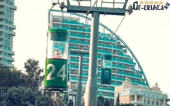 Красивый Отель в Кореизе