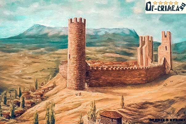 Так раньше выглядела крепость Алустон