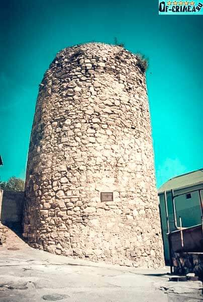 Крепость Алустон Крым