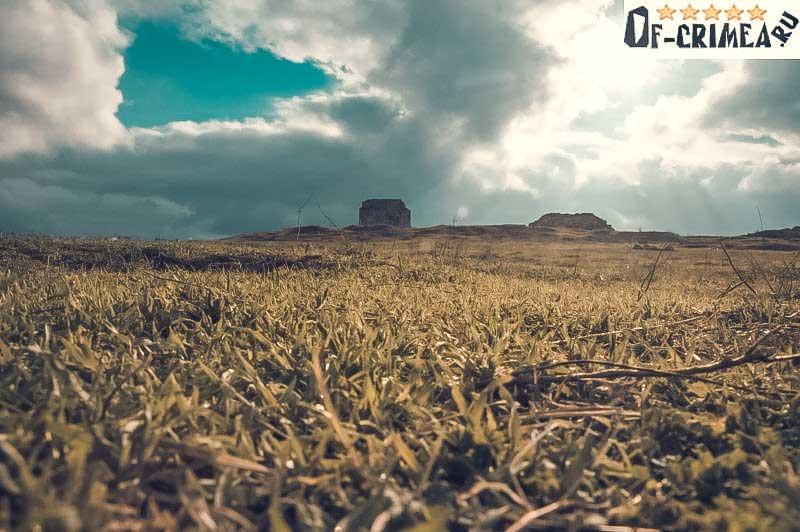 Вид на крепость Каламита